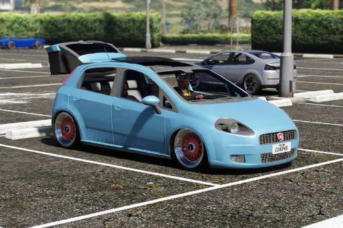 2011 Fiat Punto ELX Lowered + Sound