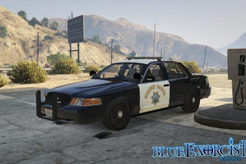 2011 Ford Crown Victoria Police Interceptor - San Andreas Highway Patrol