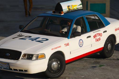 2011 Ford Crown Victoria Taxi [Replace]