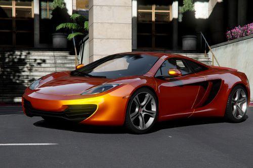 2011 McLaren MP4-12C Coupé [Add-On | Template]