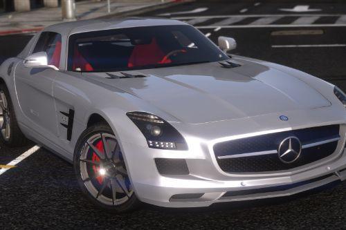 2011 Mercedes-Benz SLS AMG [Add-On / FiveM | Template | LODs]