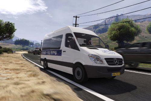 2011 Mercedes Benz Sprinter Prisoner Transport (SHABAS)