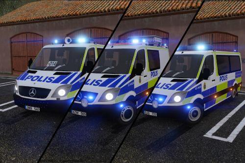 2011 Mercedes Sprinter Swedish Police Pack | ELS