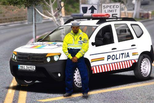 2011 Renault Duster Politia Romana