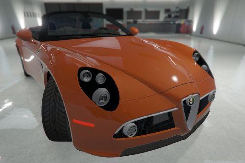 2012 Alfa Romeo 8C Spider