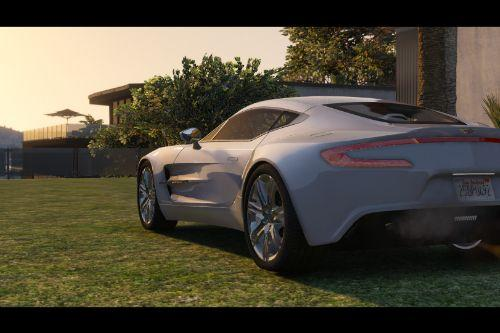 2012 Aston Martin One-77 [Replace | Tuning | Auto-Spoiler | LODS]