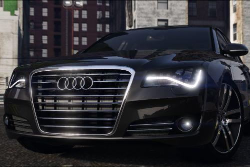 2012 Audi A8L W12 [Add-On / Replace]