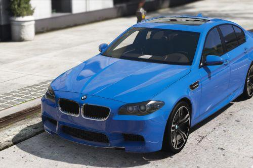 2012 BMW M5 F10 [Add-On | Tuning | LODs | Sounds]