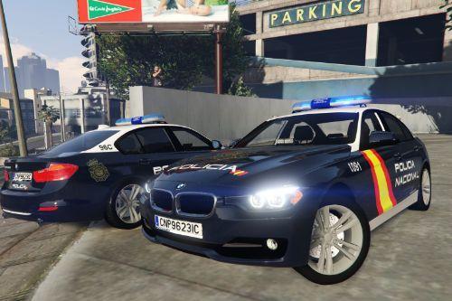 2012 BMW Serie 3 F30 Policia Nacional CNP Spain police Bemeta F30