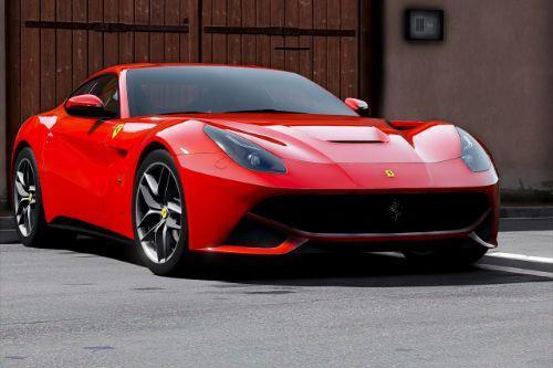 2012 Ferrari F12 Berlinetta [Add-On | Template]