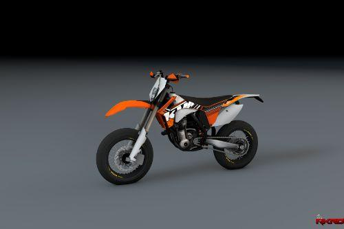 2012 KTM EXC-F 250 Supermotard [Add-On]