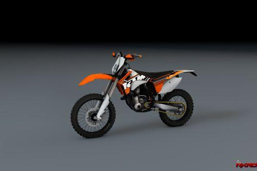 2012 KTM EXC-F 250 Enduro [Add-On]