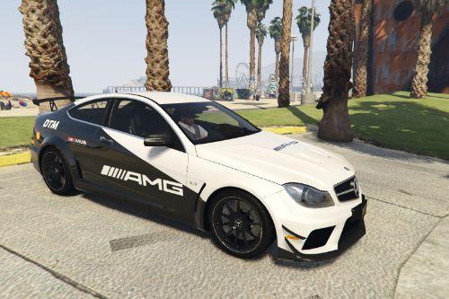 2012 Mercedes-Benz C63 AMG Coupe Black Series - DTM Sponsor [Paintjob]