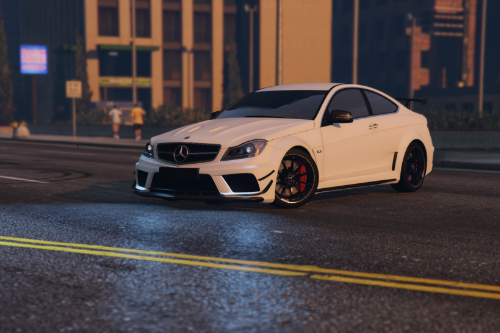 Handling for 2012 Mercedes-Benz C63 AMG Coupe Black Series