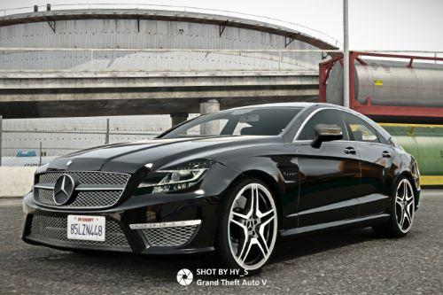2012 Mercedes-Benz CLS63 AMG [Add-On]