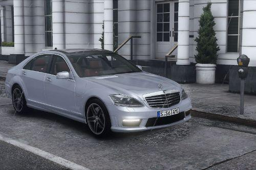 2012 Mercedes-Benz S63 AMG (W221) [Add-On | Tuning]