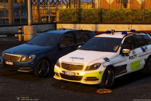 2012 Mercedes C-class Estate - Danish Police Pack [ELS]