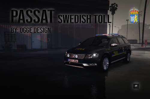 "2012 Passat B7 ""Swedish Toll"""