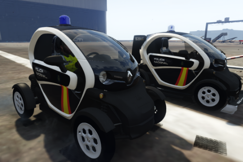 2012 Renault Twizy Cruz Roja, CNP y Policia Local Valencia [add-on/tunning/no-els]