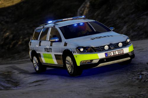 2012 Volkswagen Passat B7 Alltrack - Danish Police (ELS/REPLACE)