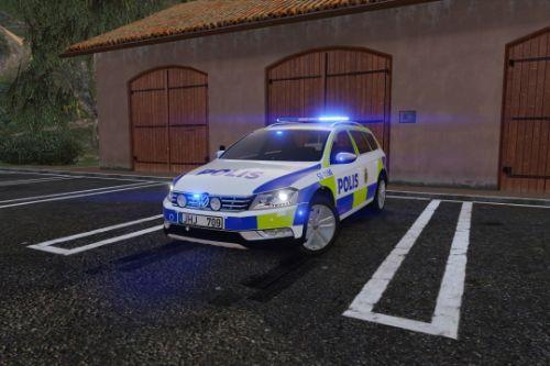 2012 Volkswagen Passat B7 Alltrack Swedish Police | ELS