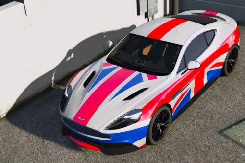 [2013 Aston Martin Vanquish] British Flag livery