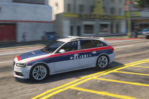 2013 Audi A4 Österreichische Bundespolizei/LVA [ELS] [PlatinNightRP] [PAINTJOB]