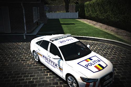 2013 Audi A6 Politia Romana [REPLACE] [ELS]