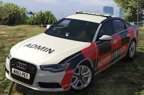 2013 Audi A6 Saloon Admin Car [paint job]