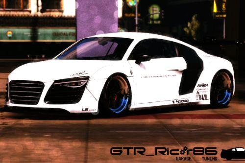 Audi R8 V10  LibertyWalk [Add-On / Replace]
