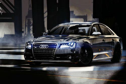 2013 Audi S8 4.0TFSI Quattro [Add-On / Replace]