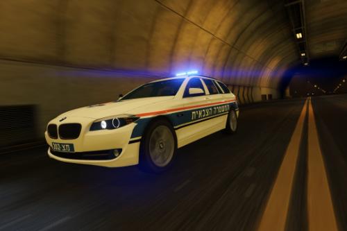 2013 BMW 5 Series || Israeli Military Police Corps