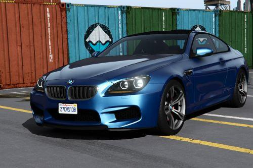 2013 BMW M6 F13 [Add-On | Extras | Template]