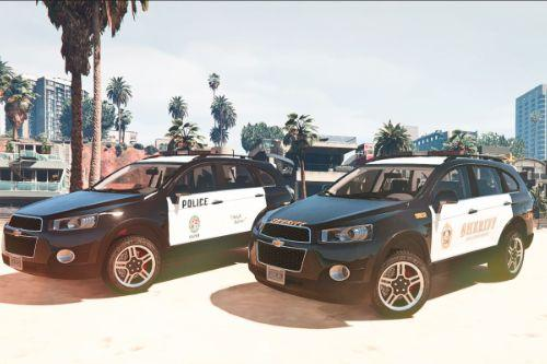 2013 Chevrolet Captiva C140 Police LSPD/LSSD [Add-on/Replace]