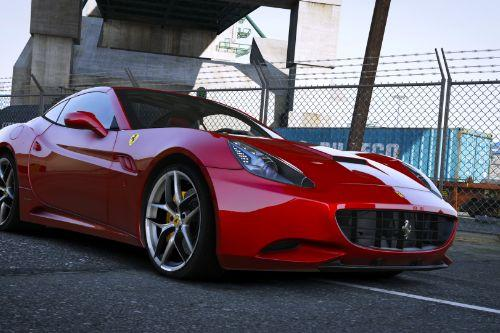 2013 Ferrari California [Add-On | Animated Roof]