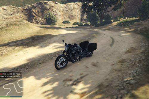 2013 Harley-Davidson V-Rod [Mayans M.C. Livery][FiveM/GTA V]