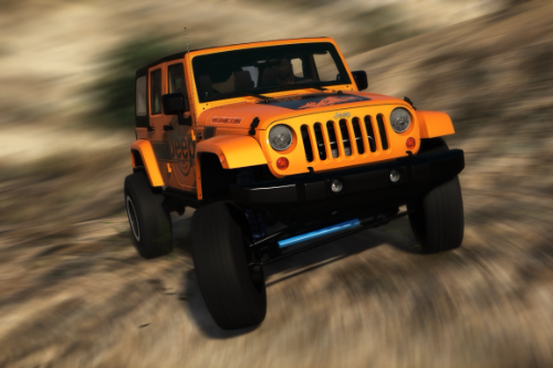2013 Jeep Wrangler Handling