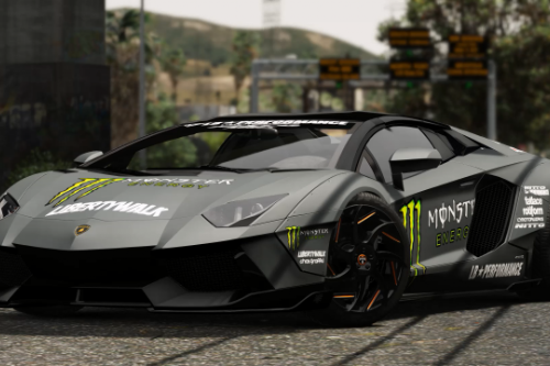 2013 Lamborghini Aventador LP700-4 Uniform-LB(Reference from Liberty walk Official)