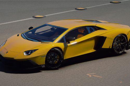 2013 Lamborghini Aventador LP720-4 50th Anniversary [Add-On / Replace | Auto-Spoiler]