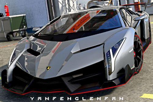 2013 Lamborghini Veneno LP750-4 [Add-On l Tuning l Template l Livery]