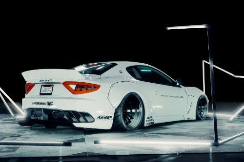 2013 Maserati GranTurismo MC Stradale Liberty Walk [Add-On | Template | Liveries | Custom Rims]