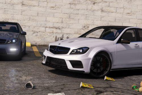 2013 Mercedes-AMG C63 (W204) Facelift [Add-On | Black Series | Brabus | Tuning]