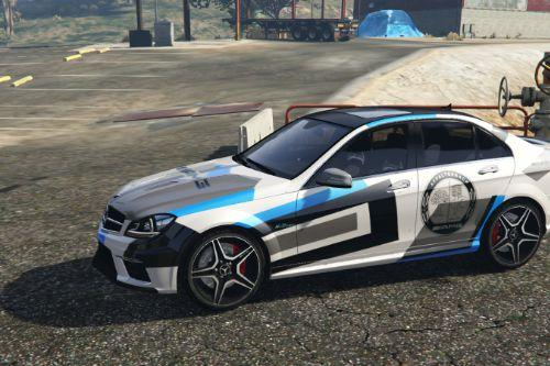 2013 Mercedes-Benz C63 AMG - Black Series livery | Modern Camo AMG Design [Paintjob]