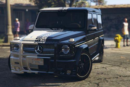 "2013 Mercedes-Benz G65 ""Black & White"" Paintjob"