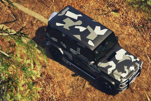 "2013 Mercedes-Benz G65 ""North Rhine-Westphalia Camouflage"" Paintjob"