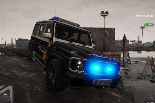 2013 Mercedes Clase G G65 AMG Policia Nacional CNP Spain Police