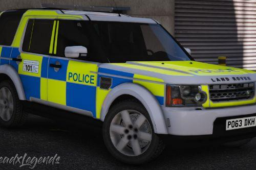 2013 Police Land Rover Discovery 4 [Replace | ELS]
