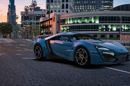 2013 W-Motors Lykan Hypersport [Add-On | Auto-Spoiler | Template]