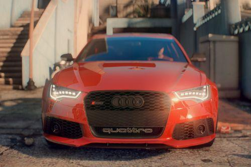 2014 Audi RS6 [Add-On | Template]