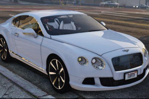2014 Bentley Continental GT [Add-On | RHD]